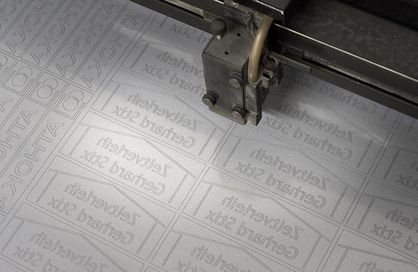 Textilveredelung Laser