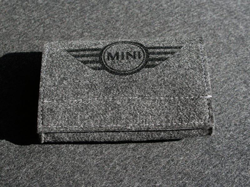 Werbemittel Filztasche mit Logo